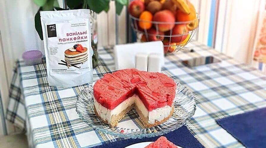тарт фруктово-творожный